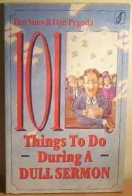 9781854240309: 101 Things to Do During a Dull Sermon