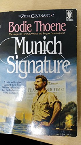 9781854241894: Munich Signature (The Zion covenant series)