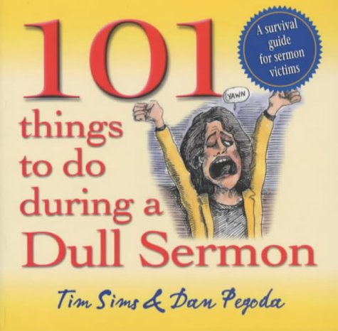 9781854245496: 101 Things to Do During a Dull Sermon