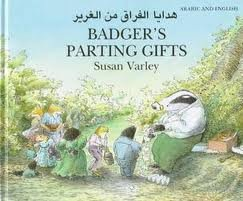9781854305299: Badger's Parting Gifts: Arabic/English