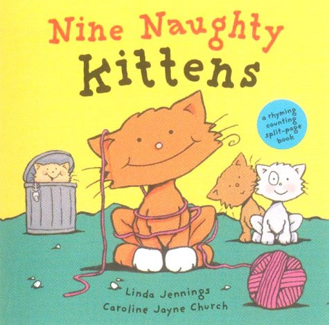 9781854306258: Nine Naughty Kittens