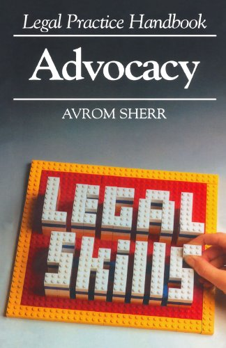 9781854311726: Legal Practice Handbook - Advocacy (Legal Practice Handbooks)
