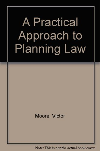 9781854311856: A Practical Approach to Planning Law