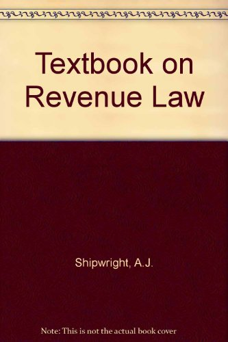 9781854313218: Textbook of Revenue Law