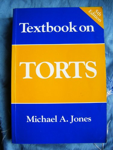 9781854315519: Textbook on Torts