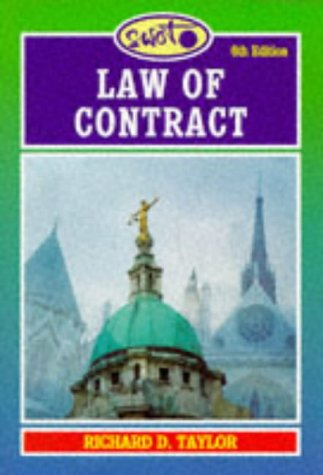 9781854317797: SWOT: Law of Contract