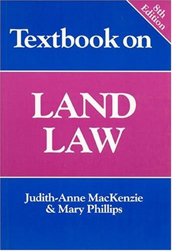 9781854318756: Textbook on Land Law