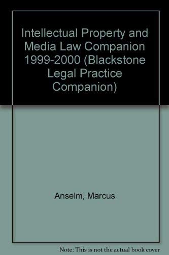9781854319180: Intellectual Property and Media Law Companion