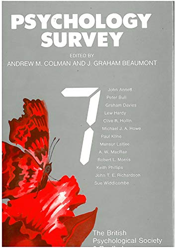 Psychology Survey 7: Colman, Andrew M.
