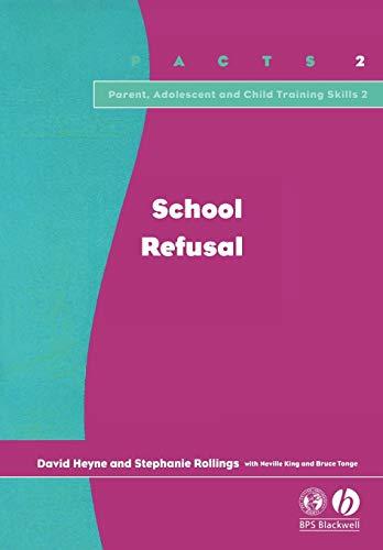 9781854333568: School Refusal