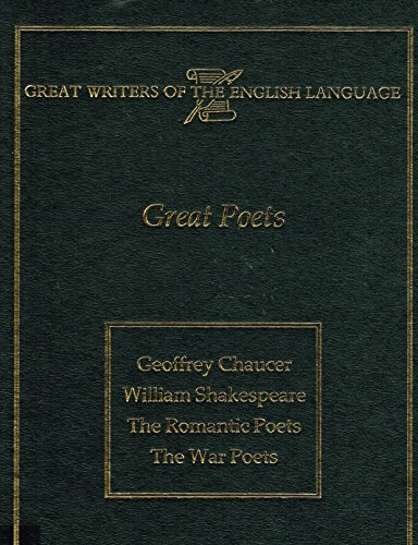 Great Poets (Great Writers Of The English Language)