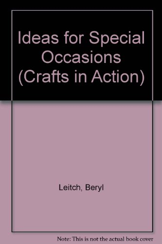 9781854354075: Ideas for Special Occasions (Crafts in Action)