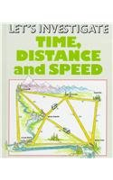 9781854354631: Time, Distance, and Speed (Let's Investigate)