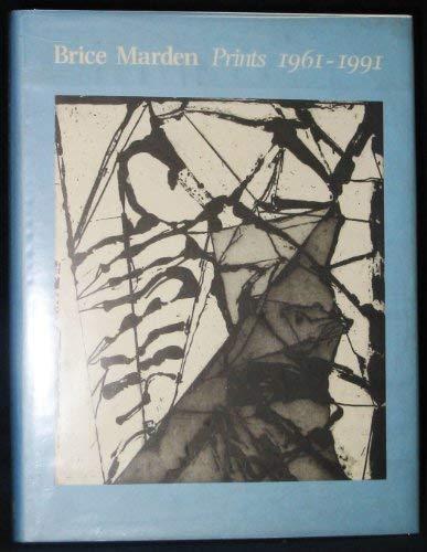 9781854370921: Brice Marden: Prints, 1961-1991: A Catalogue Raisonne