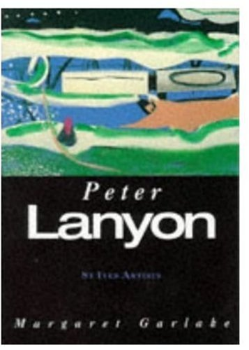 TATE GALLERY. PETER LANYON. ST IVES ARTISTS. LONDON. 1998. (Weight= 258 grams)