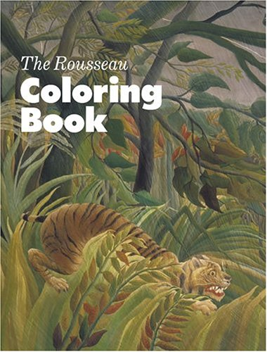 9781854376572: The Rousseau Colouring Book