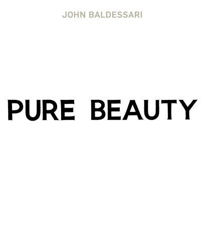 9781854378224: John Baldessari : Pure Beauty