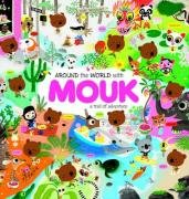 9781854378545: Around the World with Mouk (Sticker Book)