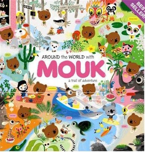 9781854378545: Around the World With Mouk /Anglais