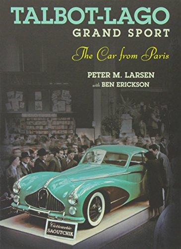 9781854432476: Talbot-Lago Grand Sport: The Car from Paris