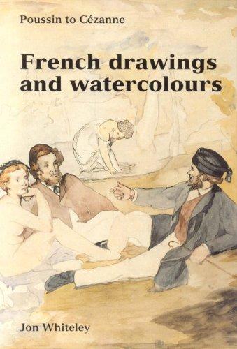 9781854441690: French Drawing & Watercolors (Ashmolean Handbooks)