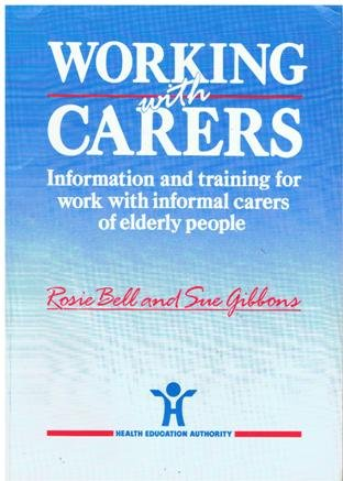 9781854480354: Working with Carers