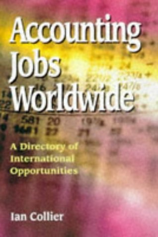 9781854581990: Accounting Jobs Worldwide