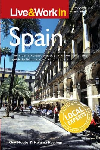 9781854584304: Live & Work in Spain
