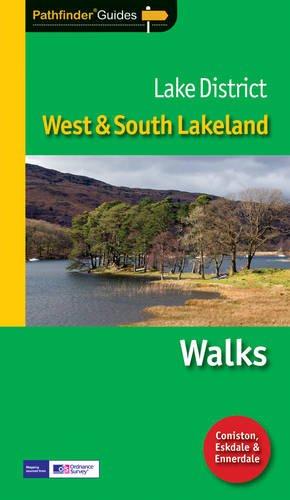 9781854584977: Pathfinder Lake District: West & South Lakeland (Pathfinder Guide)