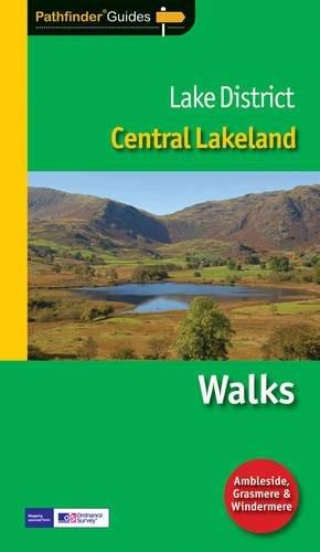 9781854584984: Pathfinder Lake District: Central Lakeland (Pathfinder Guide)
