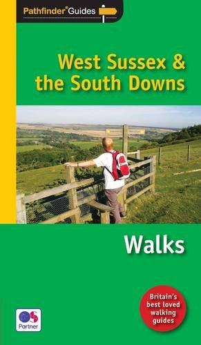 9781854585080: Pathfinder West Sussex & the South Downs Walks (Pathfinder Guide)