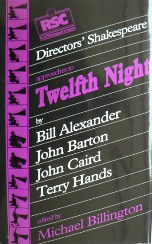 9781854590077: Rsc Directors Shakespeare Series Twelfth Night