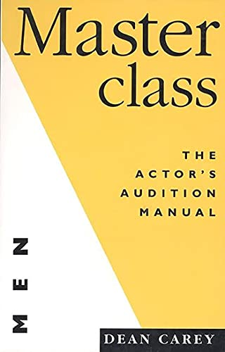 9781854592330: Masterclass (for Men): The Actor's Audition Manual (Nick Hern Books)