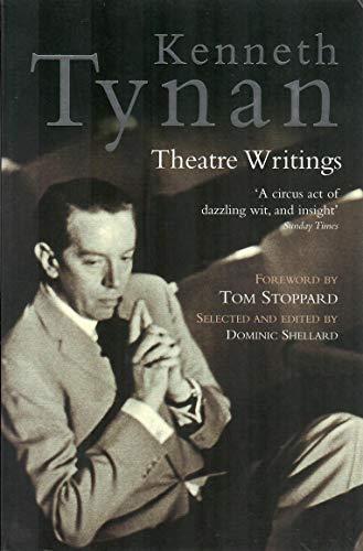 9781854595430: Kenneth Tynan: Theatre Writings