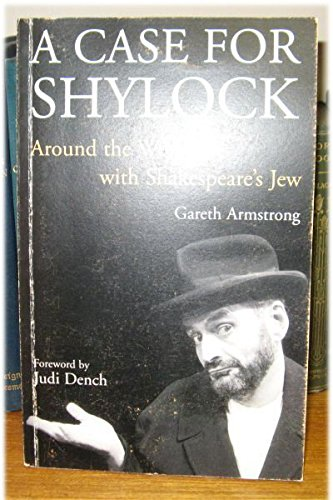 9781854598226: Case For Shylock: Around The World With Shakespeare's Jew