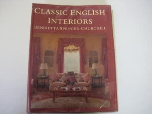 9781854700117: CLASSIC ENGLISH INTERIORS