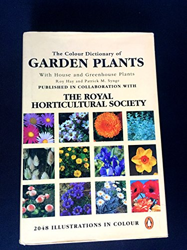 Colour Dictionary of Garden Plants With House and Greenhouse Plants