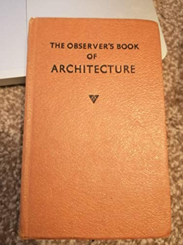 9781854710390: The Observer's Book of Architecture