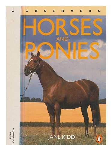 9781854710437: Observer's Book of Horses and Ponies (Observer's Pocket)