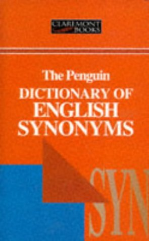 9781854710604: A Dictionary of English Synonyms and Synonymous Expressions (Claremont)