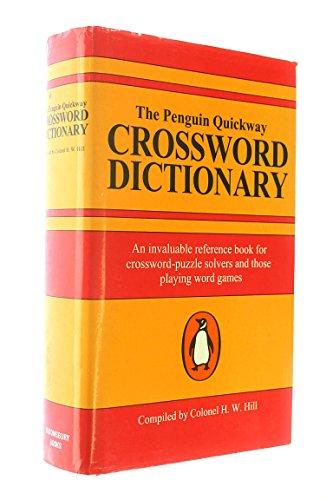9781854710659: Penguin Quickway Crossword Dictionary