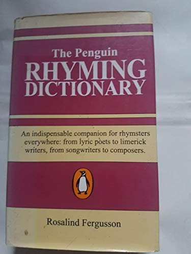 9781854710901: Penguin Rhyming Dictionary