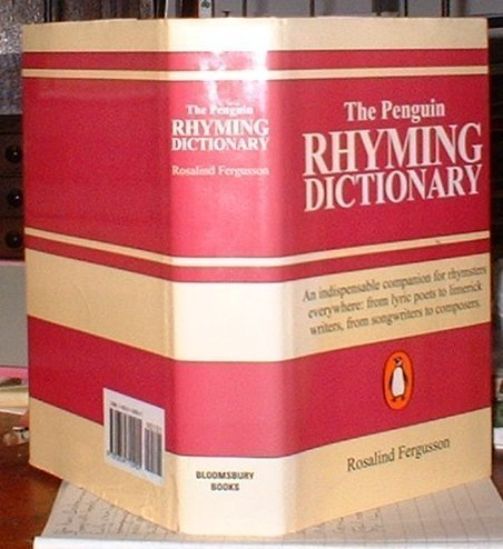 The Penguin Rhyming Dictionary (9781854710901) by Rosalind Fergusson