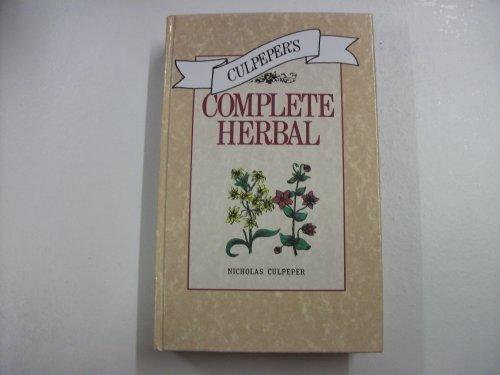 Culpeper's Complete Herbal: Nicholas Culpeper