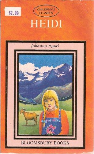 Heidi (9781854712813) by Johanna Spyri