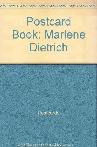 Postcard Book: Marlene Dietrich: Postcards