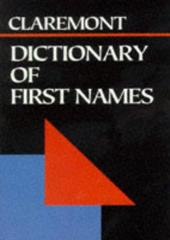 9781854717078: Dictionary of First Names (Claremont Pocket Reference Library)