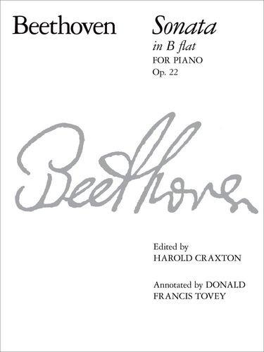 9781854720184: Piano Sonata in B flat, Op. 22 (Signature Series (ABRSM))