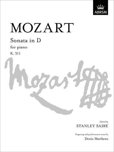 9781854721075: Sonata in D K. 311 (Signature Series (ABRSM))