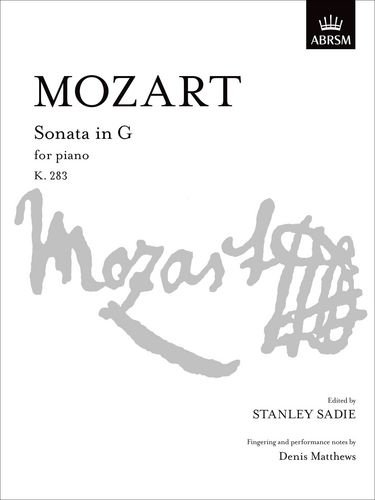 9781854721327: Sonata in G, K. 283 (Signature Series (ABRSM))
